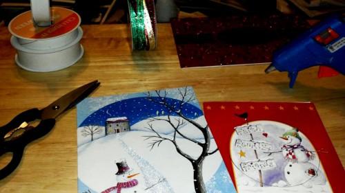 Открытки с Новым Годом и Рождеством - украшения на Рождество (2)