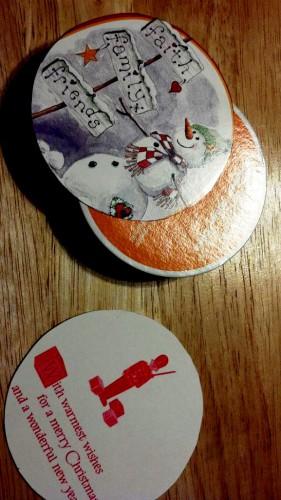 Открытки с Новым Годом и Рождеством - украшения на Рождество (3)