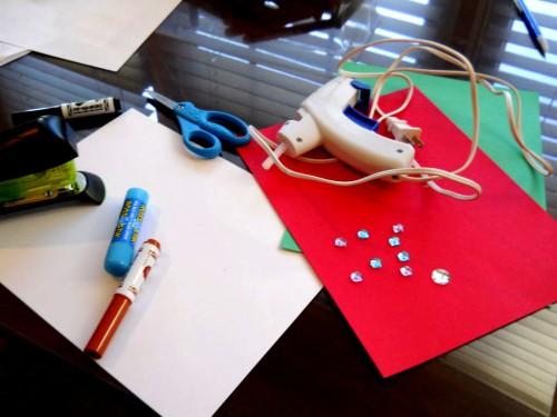 Новогодние и рождественские открытки - рождественские открытки своими руками  (2)