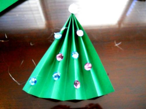 Новогодние и рождественские открытки - рождественские открытки своими руками  (7)