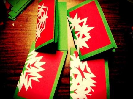 Поздравительные открытки на Новый Год (3)