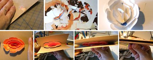 Как сделать открытку к 8 марта - необычный подарок маме (4)