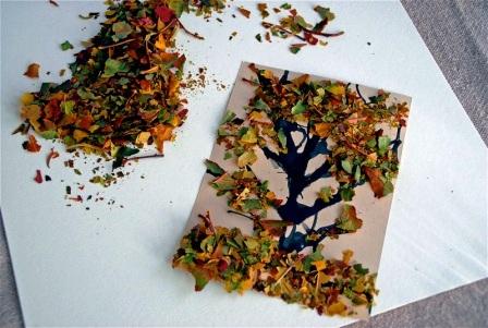 Осенние открытки своими руками (7)