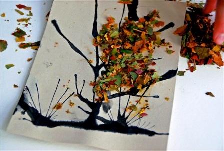 Осенние открытки своими руками (9)