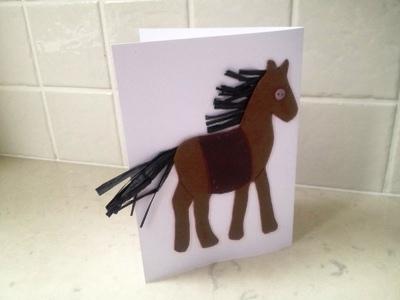 Новогодние открытки с лошадью (1)