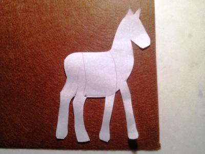 Новогодние открытки с лошадью (4)