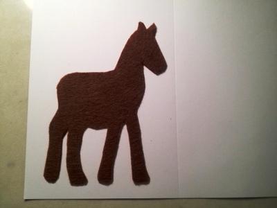 Новогодние открытки с лошадью (5)