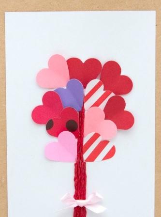 Романтическая открытка своими руками (8)